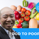 Food to poop cambridge science centre Giles Yeo